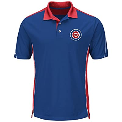 "Chicago Cubs Majestic MLB ""To The 10th"" Men's Performance Polo Shirt"
