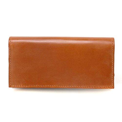 (グレンロイヤル)GLENROYAL Long Wallet with Curved Zip/03-5594 長札(長財布) TAN [並行輸入品]