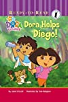 Dora Helps Diego!   [DORA EXPLORER DORA HELPS DIEGO] [Library Binding]