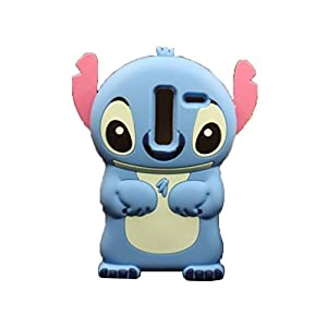 kangweichuang LG G Vista 2 H740 Stitch Case,3D 3d Lilo Stitch Movable Ear Flip Back Cover Back Cover Soft Silicone Case for LG Zero / LG Class H740 F620 H650 at Gotham City Store