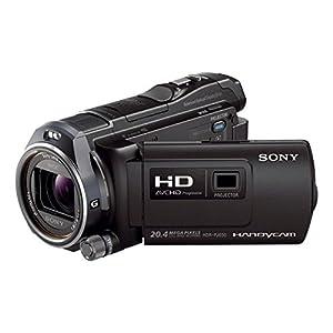 Sony HDR-PJ650VE HD Flash Camcorder (1920 x 1080 Pixel, G-Optik mit 12-fach Zoom, Projektor mit 20 Lumen, HDMI, 32GB Speicher) schwarz
