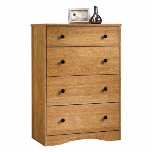4 Drawer Dresser Chest - Highland Oak Finish