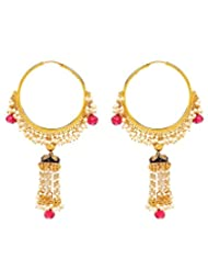 Akshim Multicolour Alloy Earrings For Women - B00NPY9XZ6