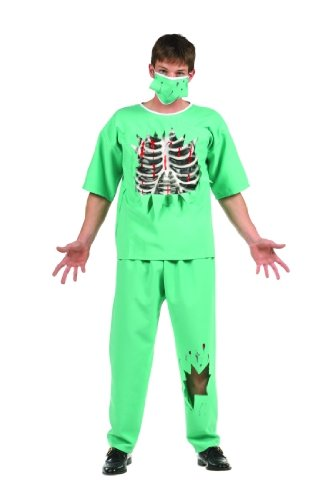 Teen Scary E.R. Doctor Halloween Costume Size (16-18)