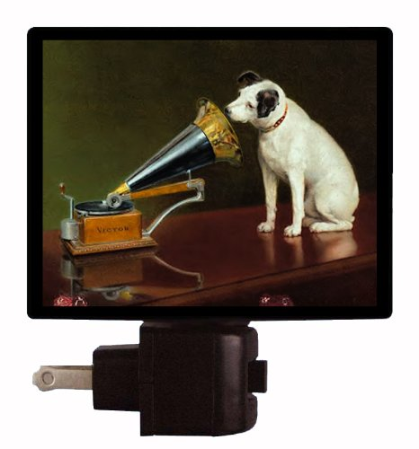 Old Masters Night Light - His Masters Voice - Dog And Gramophone front-994326