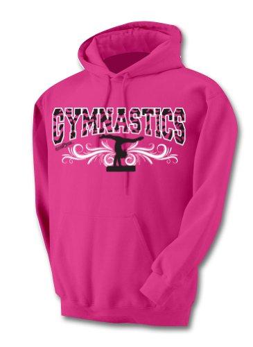 Sports Katz Zebra Hoodie Gymnastics Heliconia Youth Medium front-939494