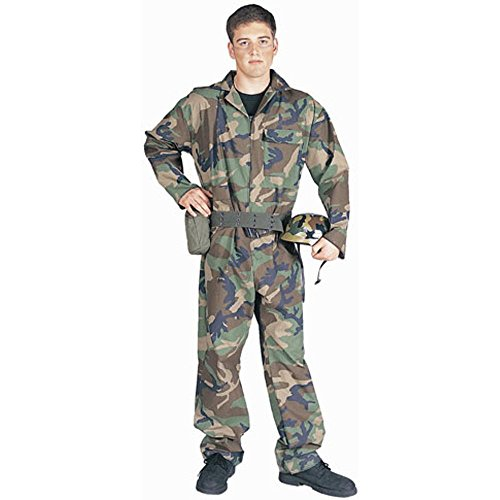 Adult Men's Army Guy Halloween Costume (Size: Standard 42-46)