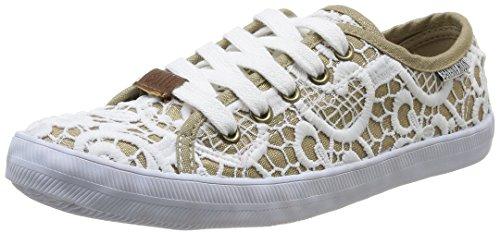 Banana Moon - Meadham, Alte scarpe da ginnastica da donna, beige (mordoré), 40