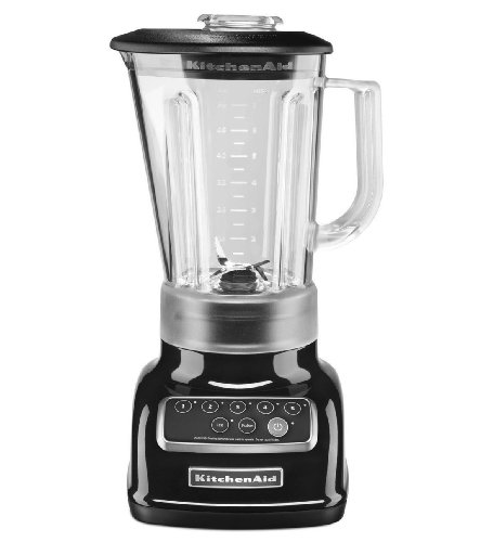 Kitchenaid Ksb1570ob 5-speed Blender Intelli-speed Csh Ice Diamond Pitcher Black