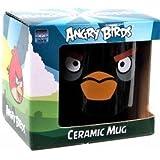 Angry Birds Black Ceramic Mug