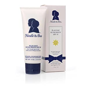 Noodle & Boo Play-Day Sunscreen, SPF-30, 4-Ounce Tube