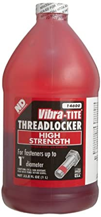 Vibra-TITE 146 Permanent Large Diameter High Strength Anaerobic Threadlocker