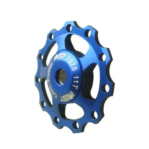 Signstek 11T Jockey Wheels Derailleur Bike Pulley Shimano & Sram Xx, Xo, X9, X7 *Blue*