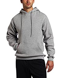 Russell Athletic Men\'s Dri Power Hooded Pullover Fleece Sweatshirt, Oxford, Large