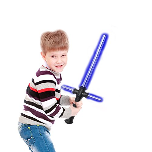 Fun Central (AU490) LED Light Up 27 Inch Tri-Saber with Sound - Blue (Tri Central compare prices)