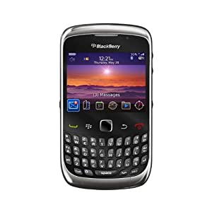 BlackBerry Curve 9300EUBK 3G 9300 Unlocked GSM Smartphone with 2 MP Camera, GPS, and Bluetooth--No Warranty (Graphite Grey)