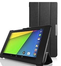 ProElite Ultra Sleek Flip Case cover for Asus ZenPad 7.0 / Theater 7.0 Z370CG [Black]