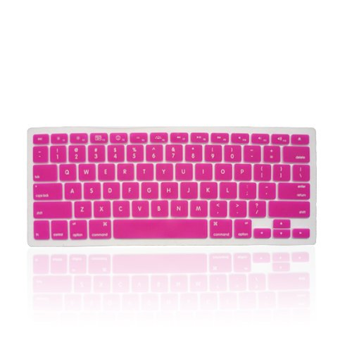 =>  Knopa PINK Keyboard Cover Silicone Skin for New Apple MacBook Pro 13, 15, 17 Inch Keyboard will fit MacBook Pro with or without Retina Display, MacBook Air 13-Inch