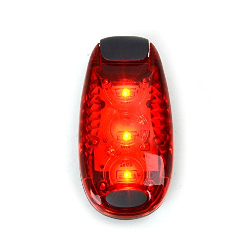 E-accexpert Red Safety Warning Lamp Flashing LED Light