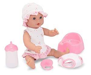 """Melissa & Doug Annie - 12"""" Drink and Wet Doll"""