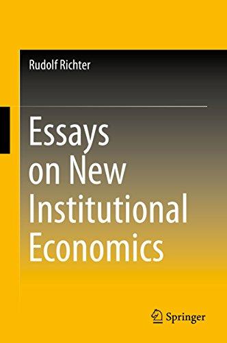 essays-on-new-institutional-economics