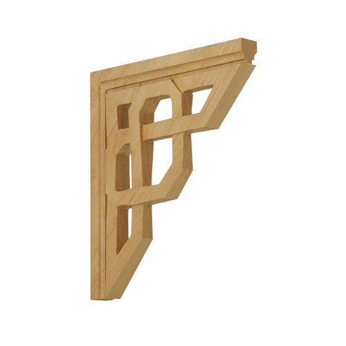 Brown Wood Inc. 01601401HM1 Celtic Decorative Wood Bracket, Hard Maple (Celtic Knot Bracket compare prices)