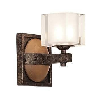 Kalco 2931fg Hampton 1 Light Bath Florence Gold Finish Vanity Lighting Fixtures