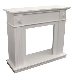 elegante kaminumrandung kaminumbau kaminkonsole mdf wei. Black Bedroom Furniture Sets. Home Design Ideas