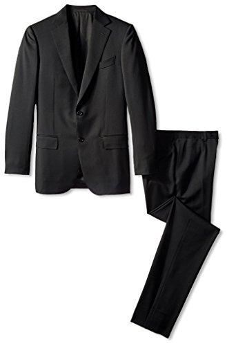 Ermenegildo-Zegna-Mens-Solid-Notch-Lapel-Suit