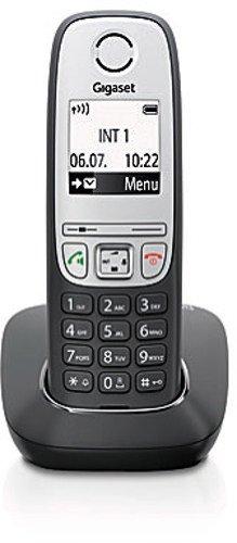 Shopping mit http://telefone.kalimno.de - Gigaset A415 Dect-Schnurlostelefon, schw