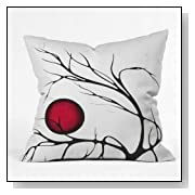 DENY Designs Madart Together as One Throw Pillow