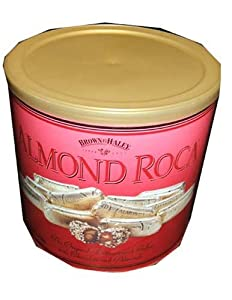 Brown and Haley Almond Roca Original Buttercrunch Toffee 42 OZ Gift Tin