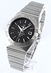 Omega Constellation Black Dial Stainless Steel Diamond Automatic Ladies Watch 123.10.31.20.01.001