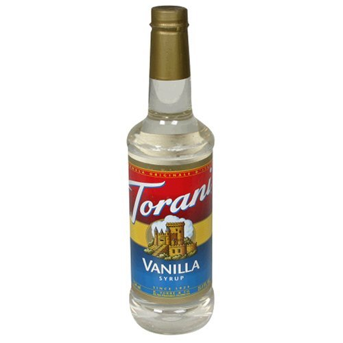 Torani Sugar Free Coffee Syrup Variety Pack - Vanilla, Hazelnut, Chocolate, 3-Count, 25.4-Ounce Bottles