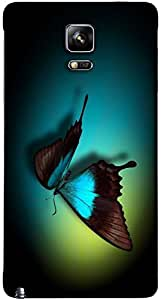 Timpax protective Armor Hard Bumper Back Case Cover. Multicolor printed on 3 Dimensional case with latest & finest graphic design art. Compatible with Samsung Galaxy Note 4 Design No : TDZ-26920