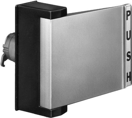 Push ~ Pull Paddle Handle For Aluminum Narrow Stile Store Front Glass Doors (Push To Right) front-603093