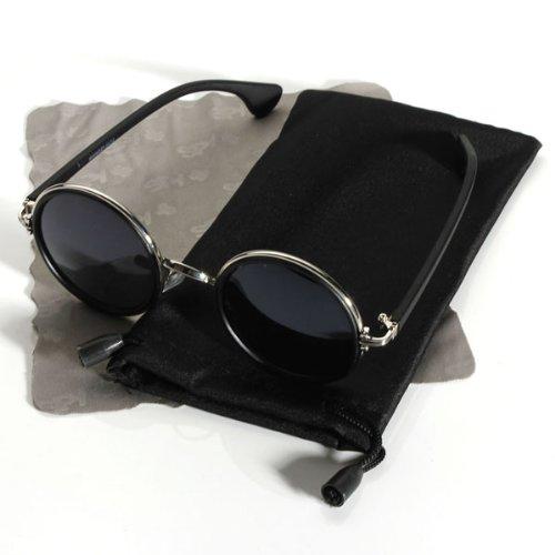 uv400 lunette de soleil ronde hippy john lennon retro vintage homme femme boutique john lennon. Black Bedroom Furniture Sets. Home Design Ideas