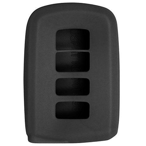 Keyless2Go New Silicone Cover Protective Case for Smart Prox Keys with FCC HYQ14FBA - Black (2015 Toyota Rav4 Key Cover compare prices)