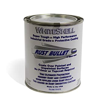 WSQ Whiteshell preventivo y pintura de recubrimiento protector, 1