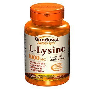 Sundown Naturals L-Lysine, 1000Mg, Caplets 100 Ea