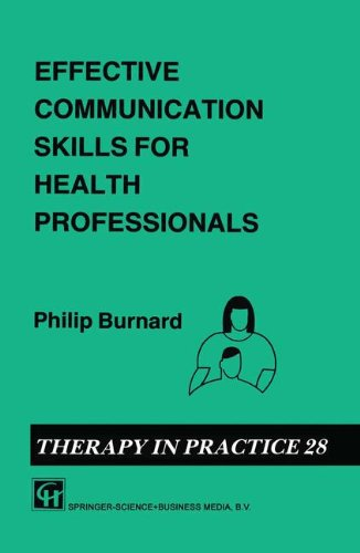 communication skills for health professionals Health regulation & medical education department are organizing a workshop on effective communication skills for healthcare professionals date: monday 24 th june 2013 time: 0800hrs- 1400hrs venue: rashid medical library building, main auditorium objective to present to the.
