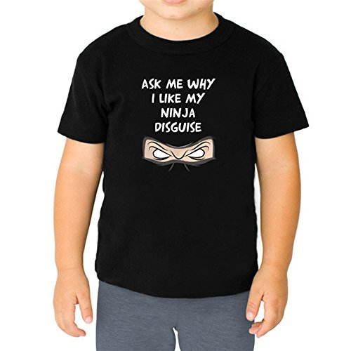 Ask me why I like my ninja disguise Youth T-Shirt