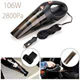 Sellify 106W 12V 4 In 1 1Portable Handheld Wet And Dry Car Vacuum Cleaner With Bag