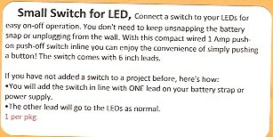 Small Mirco Switch