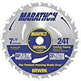 "24030 7-1/4 24t Marathon Blade Arbor:5/8""/diamond Sold: 10/pack"
