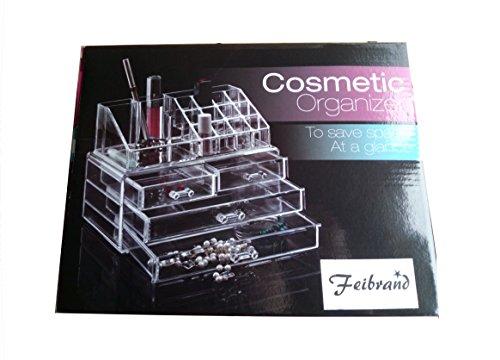 Feibrand-Organisateur-en-Acrylique-Pour-Maquillage-20-Compartiments