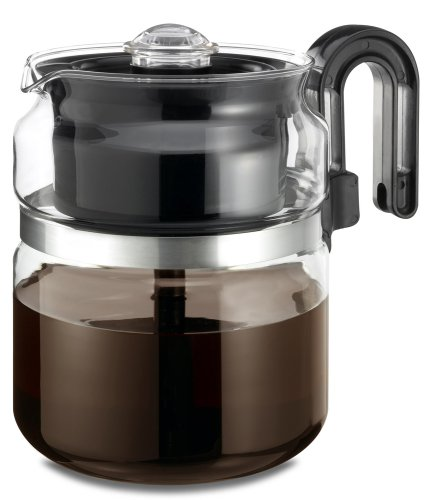 Sale!! Medelco 8 Cup Glass Stovetop Percolator