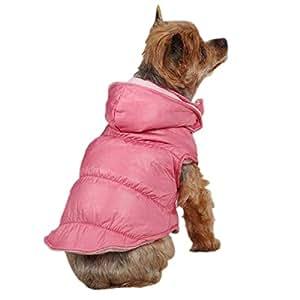 Zack & Zoey Snow Lodge Dog Vest, Small/Medium, Pink