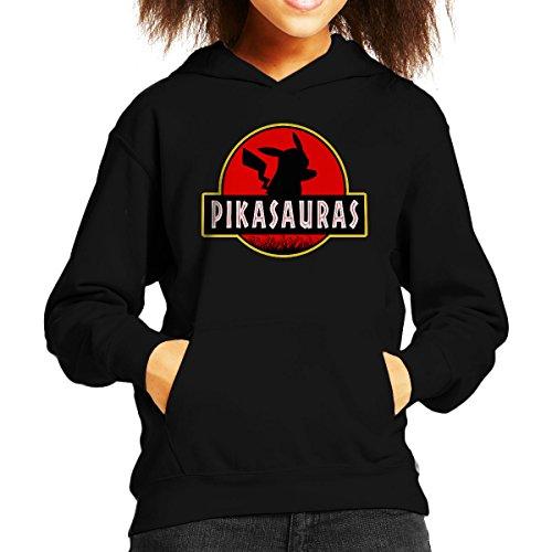 Pikachu-Pokemon-Jurassic-Park-Pikasaurus-Kids-Hooded-Sweatshirt