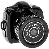 Mini HD 720P 2.0MP CMOS 30FPS Digitalkamera weltweit kleinste HD versteckte Kamera mit TF Steckplatz & Schlüsselanhänge